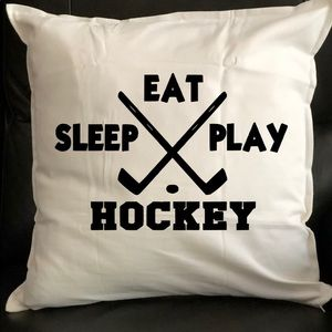 Other - Hockey mom pillow case
